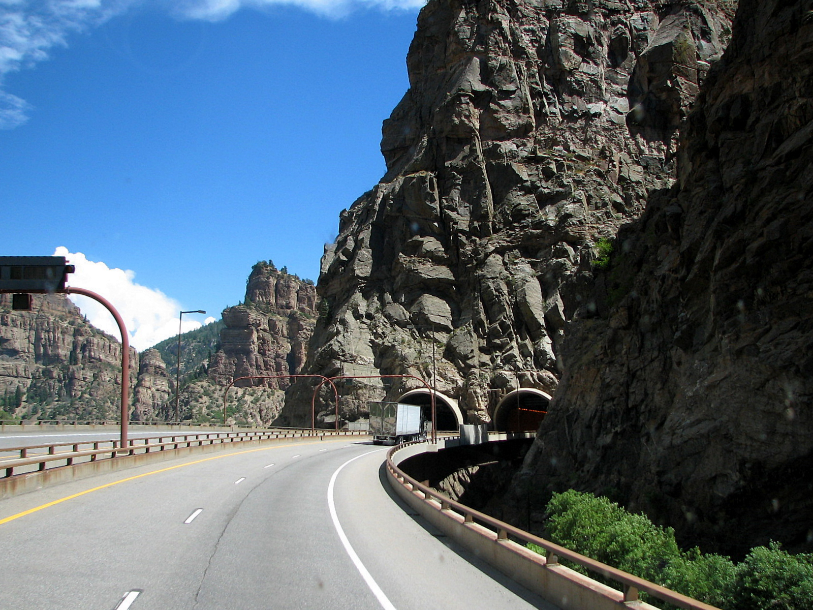 Eisenhower Tunnel in Colarado, USA
