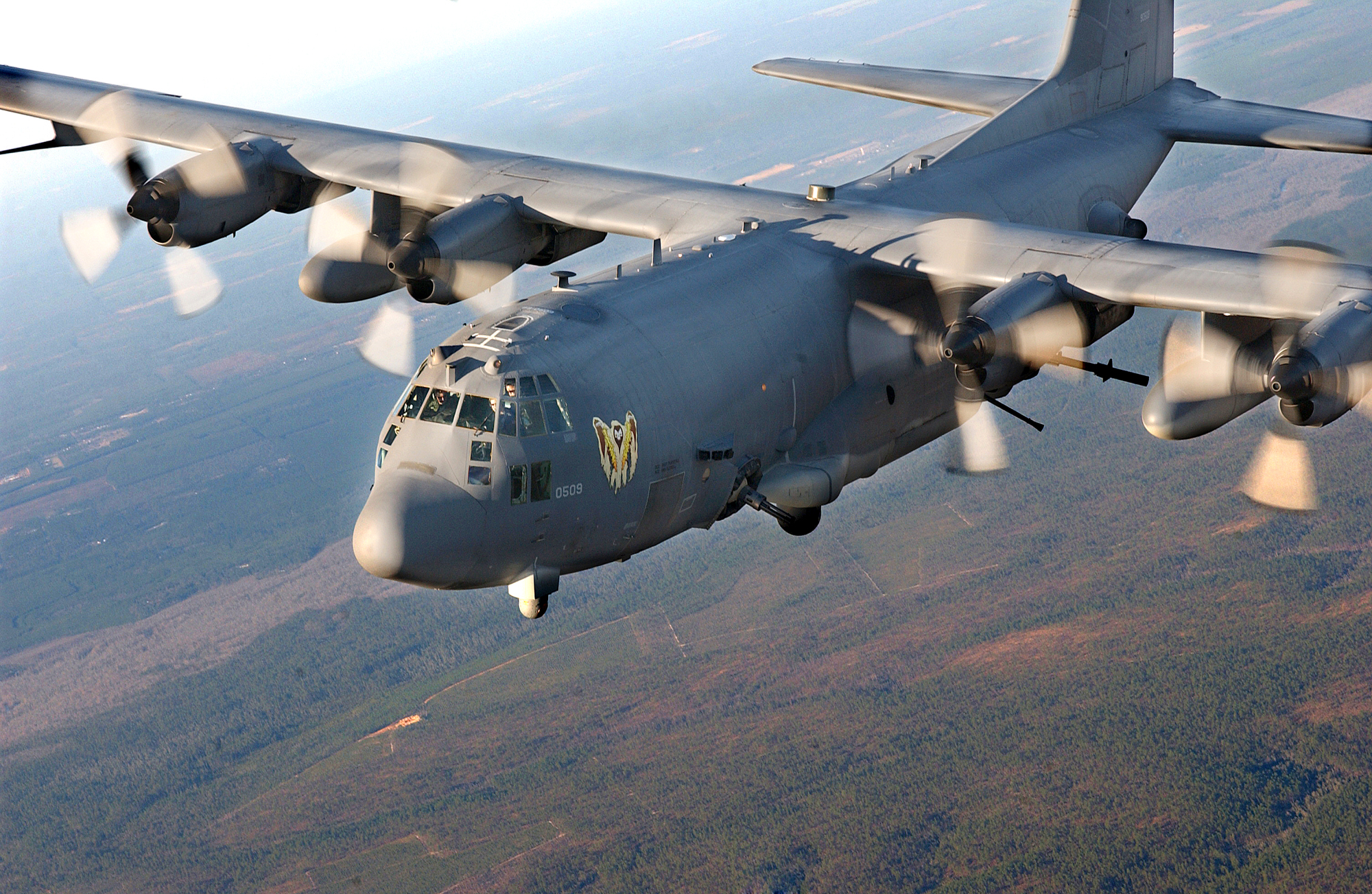 Lockheed Martin has sold India 6 Super Hercules tactical Airlifter; C-130J aircraft, with an option to sell 6 more. The C-130J is a very advanced version with four powerful Allison AE2100D3 turboprop engines; Northrop Grummans MODAR 4,000-colour weather and navigation radar, with range of 250 nautical miles & four L-3 display systems multifunction liquid crystal display glass cockpit. The cargo capacity is over 15 tons